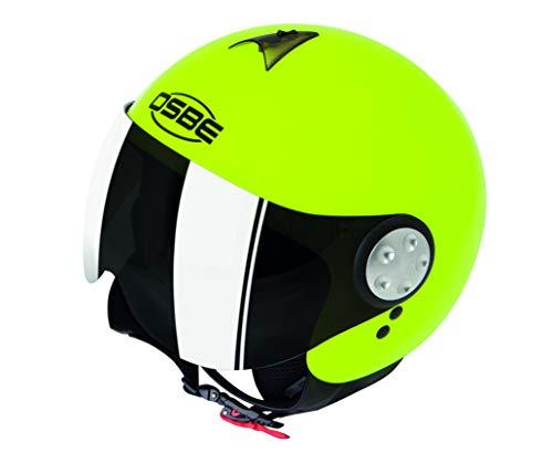 OSBE CASCO MOTO DJ AERO 2 SHINY YELLOW FLUO M