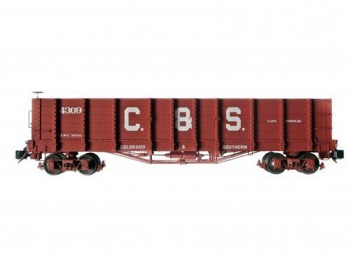 """Accucraft AMS Güterwagen """"C&S High Side Condola"""" ,1:20,3, Spur G Gartenbahn"""