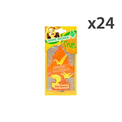 set-24-arbre-magique-deofruit-cocktail-articles-pour-voiture