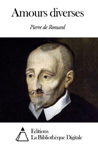 Amours Diverses French Edition Ebook Pierre De Ronsard