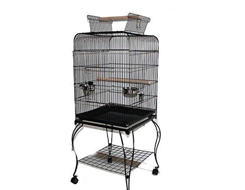 MyPets® Vogelvoliere PERFECT XL Papageienkäfig Voliere Käfig Vogelkäfig Sittich JETZT GÜNSTIGER - Für In- und Outdoor - Top Ausstattung