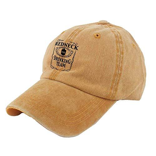 Wfispiy Redneck Drinking Team Unisex Cotton Denim