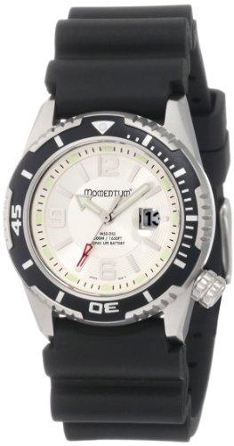 Momentum - 1M-DV51S1 - Montre Femme - Quartz Analogique - Bracelet Caoutchouc noir