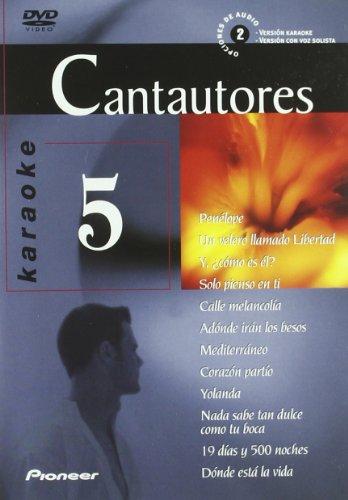 Karaoke 5 Cantautores [DVD]