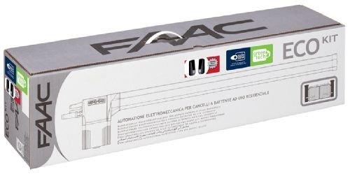 Automazione per cancelli a battente elettromeccanica ECO KIT 230V GREEN