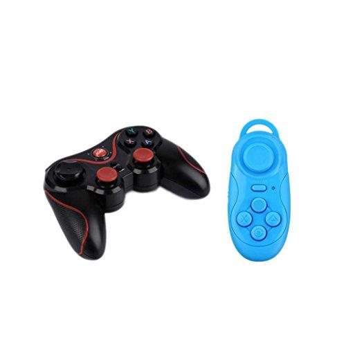 Magideal S600Smartphone Gamepad mit 1x Controller Wireless Bluetooth Remote Fernbedienung + USB Kabel VR Helm Spiele Notebook S600 Usb