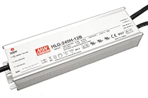 LED Treiber Dimmbares LED Netzteil MeanWell HLG-240H-24B 240 W 24 V/DC 10 A LED Konstantspannung