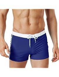 5f4c644743f3 ODJOY-FAN Uomo Costume da Bagno Boxershorts, Piscina Sport Slip Tronchi di  Nuoto Pantaloncini