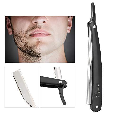 BigBig Style Barber Razor Barber Straight Edge Hair Clipper Salon Folding Barber Razor Edge Folding Blade