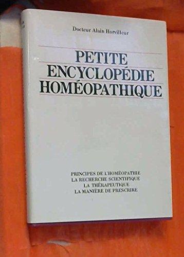 Petite encyclopédie homéopathique