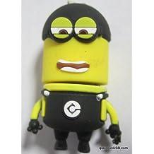 USB 8gb o 16gb muñeco amarillo ladrón (16gb)
