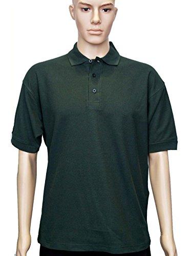 Uneek clothing -  Polo  - Polo - Polo  - Maniche corte - Uomo Verde bottiglia