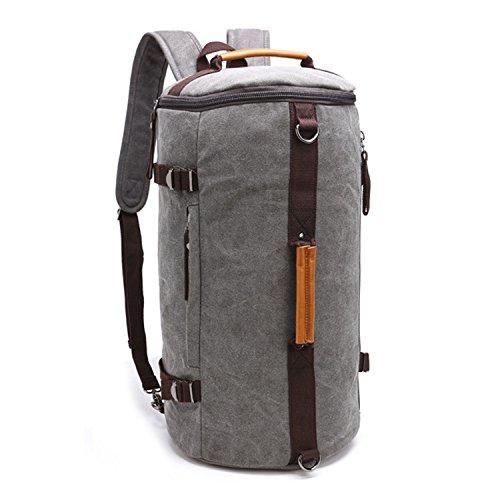a5861ef230 Outreo Vintage Borsa Uomo Scuola Zaino Sportive Borsello università Laptop  Backpack per Studenti Sacchetto Outdoor Zaini Sport Borse ...