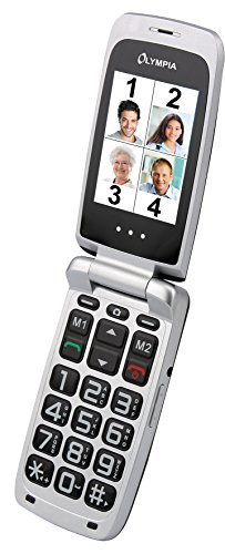 Image of OLYMPIA 2205 Modell Classic Komfort-Mobiltelefon (Großtasten, Farb-LC-Display) schwarz