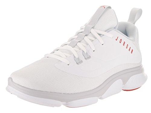 Nike Herren Jordan Impact TR Sneaker Weiß (White/Gym Red/Pure Platinum)