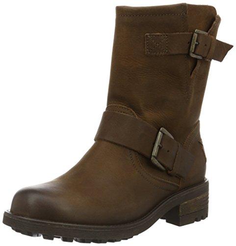 BULLBOXERBiker Boots - Stivali da Motociclista Donna , Marrone (Cognac), 38
