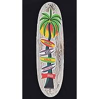 Tavola da surf 60cm decorazione Hawaii Hawaii Isola Mappa