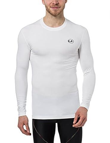Ultrasport Herren Kompressionsshirt Ben, lang, Fitness Funktionsshirt, atmungsaktiv – nutzbar