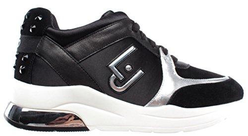 LIU JO Sneakers B18021T2039 22222 Donna running miranda con logo zeppa 50 70ea4f17b0b