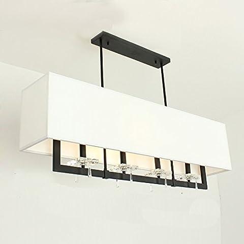Continental CrystalIl LedDopo una breve euro personalità lampadari moderno minimalista sala crystal lampada bedroom lampade per illuminazione Ristorante-H302