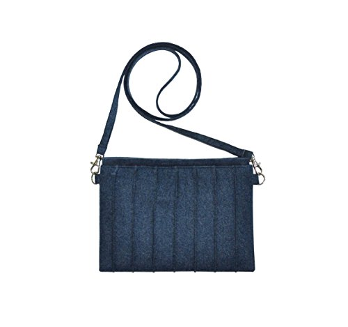 Mimosastyle, Borsa a tracolla donna multicolore Red M Blue