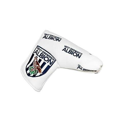 West Bromwich Albion F.C. blade puttercover & Wasserbasis, für Klinge puttercover- mit herausnehmbarer, mit Klettband, für OHP opening- ca. 17 cm x 15 cm x 6 cm, Offizielles Fußball Aufstellfunktion im blister-Merchandising-Produkt