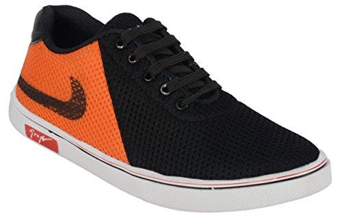 Apple Wood Black Synthetic Sneakers