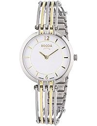 Boccia Damen-Armbanduhr XS Analog Quarz Titan 3213-02