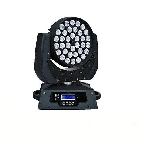 LED Moving Head Bühnenlicht, RGBW Zoom Disco Light, DMX512 Bühnenbeleuchtung Licht, Party DJ Stage Spot Licht Effekte Wash Beleuchtung Licht - Led Zoom Light