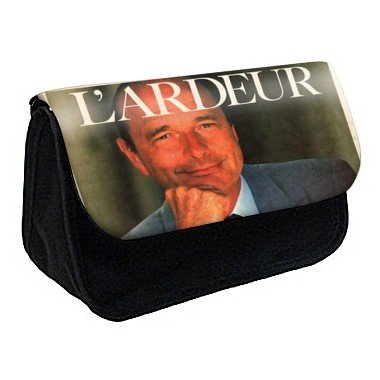 Youdesign - Trousse à crayons / maquillage personnalisée jacques chirac -73 - Ref: 73