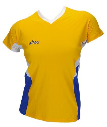 Asics Indoor Sports Volleyball Handball Trikot Offence Slee Top Femmes 0301 Art. 648203 Jaune