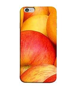 Fuson Designer Back Case Cover for Apple iPhone 6s Plus :: Apple iPhone 6s+ (Healthy Fruits Juices Golden Apples )