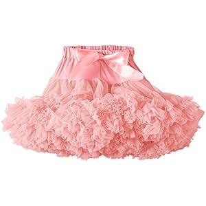 Angels Face - Rose Pink Tutu, Vestito per bambine e ragazze, rosa (rosa - rose pink), 6 anni (116 cm)