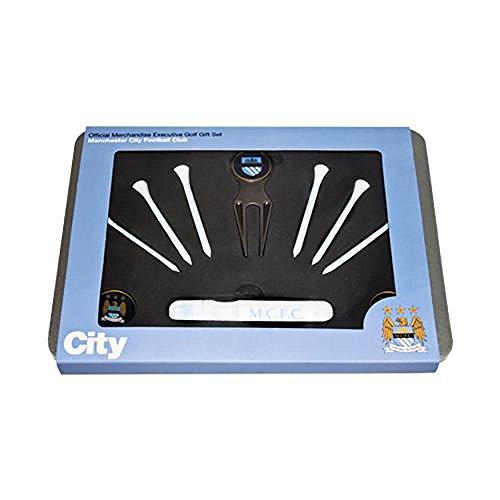 Oficial Manchester City FC Executive Golf Set de regalo