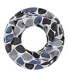 Majea Loop Schal Damen Schlauchschal - viele Farben - modischer Loopschal - Halstücher (schwarz 6)