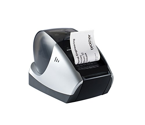 Brother P-touch QL570 Etikettendrucker (USB 2.0) schwarz/silber - P-touch Brother 500 Ql