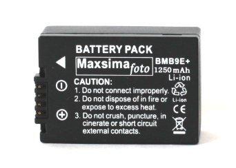 maxsimafoto-dmw-bmb9-1250mah-battery-pack-for-panasonic-lumix-dmc-fz150-fz100-fz72-fz70-fz62-fz60-fz