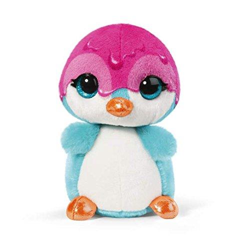 Nici 38448 - Doos Sirup Edition Pinguin Deezy Crazy, Plüschtier, 16 - Große Augen Pinguin Plüschtiere