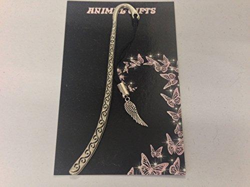 Tibet Silber Engel Flügel mit Kordel, mit Lesezeichen, sehr feine DETAILS mit CH77 RETAIL Verpackung