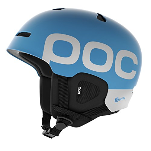 Casque Spin Backcountry Cut POC Auric, Adulte Unisexe, Bleu (Bleu Radon), ML 55-58