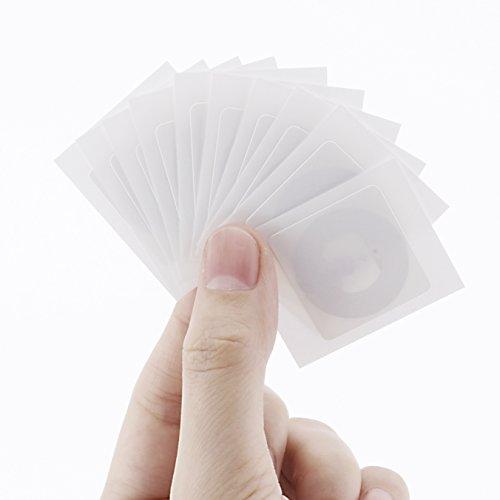 Funzionanti su Tutti i Dispositivi NFC Chipset NXP Ntag215 con 504 Byte di Memoria PVC Colorato Pentagon imeskey NFC Card Tags Compatibile con Amiibo --- 10 NFC Tag