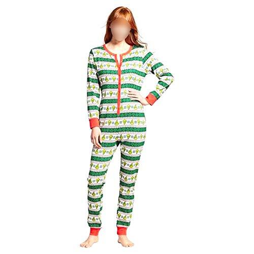 Hzjundasi Familia Navidad Mono Pieza Pijamas