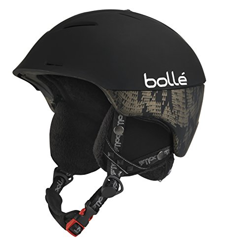 Bollé Synergy Casco da Sci, Nero (Soft Black), 54-58 cm