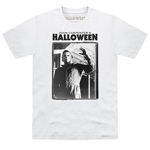 -Shirt Michael Myers, Herren, Wei, 3XL (T Shirt Halloween)
