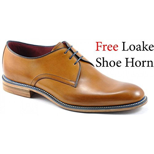 loake-drake-mens-formal-lace-up-shoes-11-tan-burnished