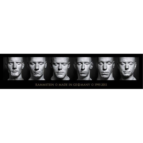 Rammstein - Poster Made in Germany (in 200 x 50 cm)