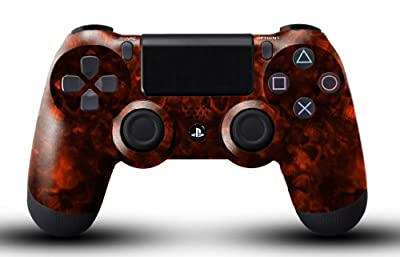 Custom PS4 Controller - Red Reaper