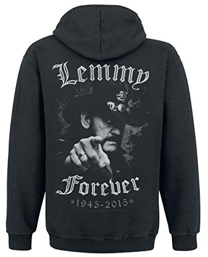 Motörhead Lemmy - Forever Kapuzenjacke schwarz Schwarz