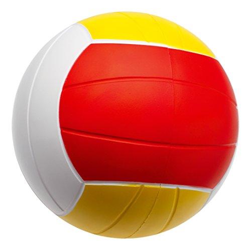 Sport-Thieme PU Schaumstoff Volleyball | Softball mit sehr gutem Sprungverhalten | Indoor / Outdoor | ø 200 mm | Verschiedene Farben und Gewichte | Geschlossenzelliger Spezialschaumstoff