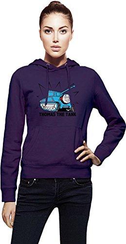 Thomas the Tank Hoodie X-Large (Purple Train Thomas)